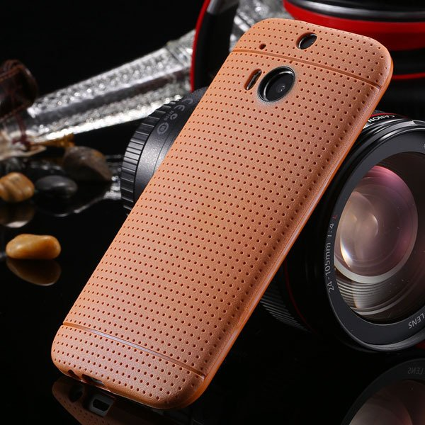 M8 Case Slim Phone Cover For Htc One M8 Back Phone Shell Perfectly 1991600215-8-deep blrown