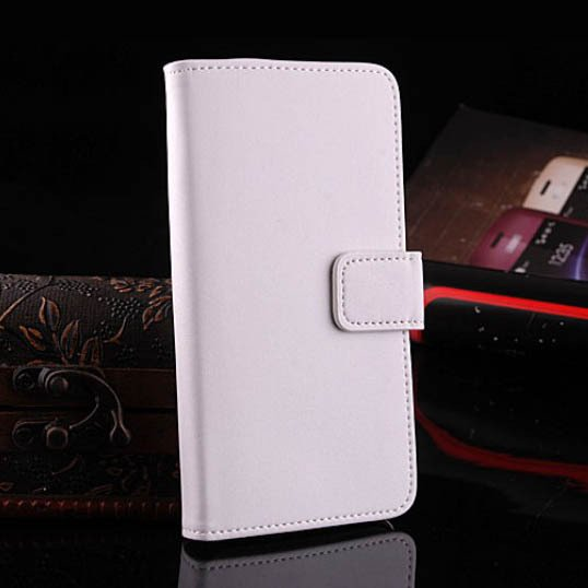 M7 Leather Case For Htc One M7 Luxury Flip Cover With Stand Holder 1335998906-2-White