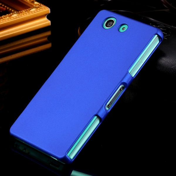 Z3 Mini Hard Case Ultra Slim Mat Lubricating Smooth Cover For Sony 32281411985-3-blue