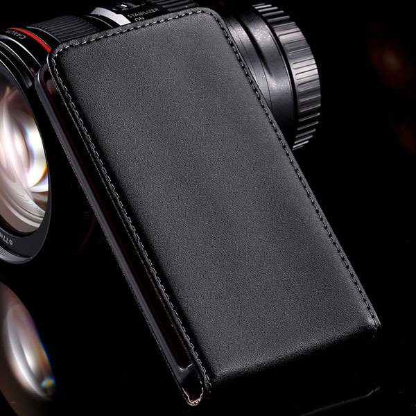 Luxury Genuine Leather Cover For Nokia Lumia 820 N820 Full Cell Ph 32240159444-1-black