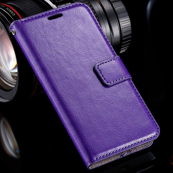 N630 Flip Wallet Case Luxury Pu Leather Cover For Nokia Lumia 630  32283539278-4-purple