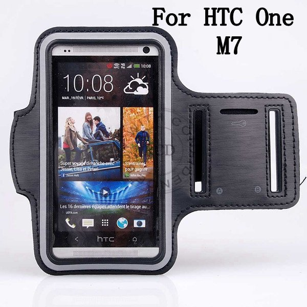 Running Sport Arm Band For Htc One M7 Phone Bag Case Moq 1Pcs/Lot  1135570388-1-