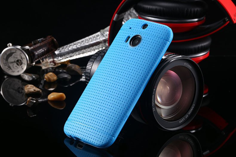 M8 Potable Slim Back Case For Htc One M8 Ultra Thin Cover Durable  1991593688-3-light blue