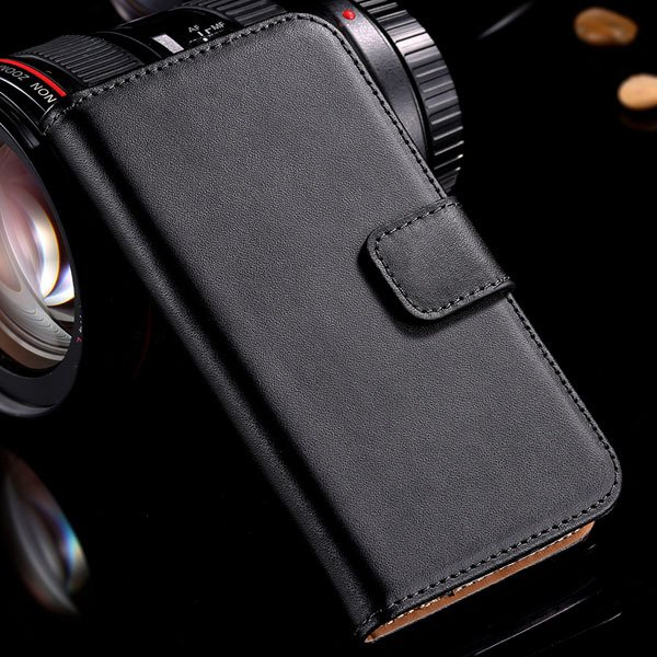 For Nexus 4 Genuine Leather Cover For Lg Google Nexus 4 E960 Case  32240221849-1-black