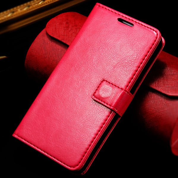 G2 Wallet Leather Case Card Insert Flip Pu Cover For Lg Optimus G2 32282718789-5-rose