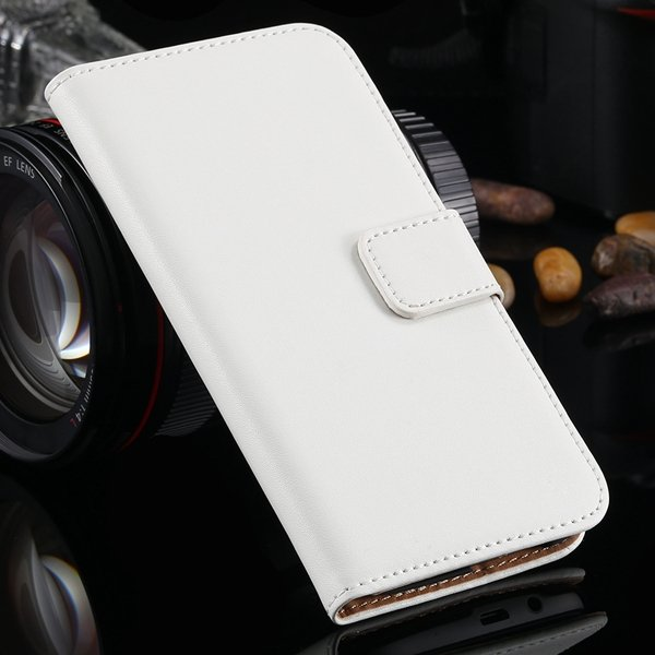 For M8 Genuine Leather Case Flip Cover For Htc One M8 Full Bag Wit 1821629990-2-white