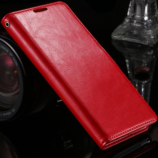Z2 Pu Leather Case For Sony-Ericsson Xperia Z2 D6503 D6502 L50W L5 1877559670-3-red