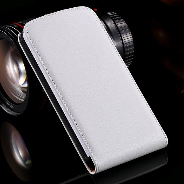 G2 Luxury Real Leather Case Vertical Flip Cover For Lg Optimus G2  32288862828-2-white