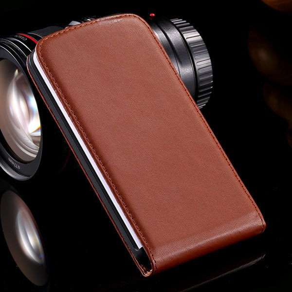 G2 Luxury Real Leather Case Vertical Flip Cover For Lg Optimus G2  32288862828-3-brown