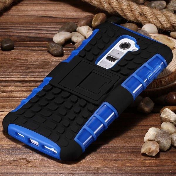 G2 Armor Case Heavy Duty Hybrid Cover For Lg G2 Optimus D802 D801  32274018481-7-blue