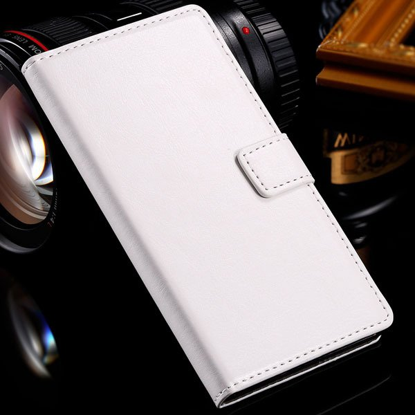 For Sony L36H Wallet Book Case Luxury Pu Leather Cover For Sony Xp 32283789281-2-white