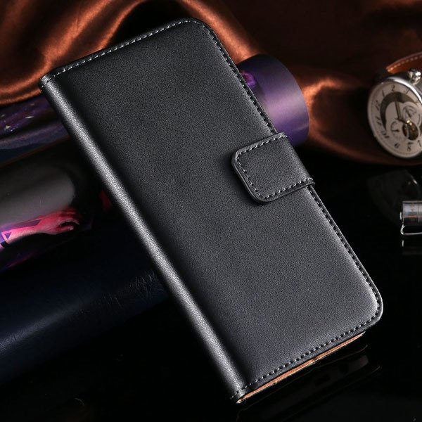 M8 Flip Leather Case For Htc One M8 Genuine Leather Cover Full Pro 1821646570-1-black