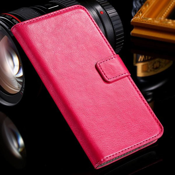 M7 Flip Case Stand Pu Leather Cover For Htc One M7 Full Protect Wi 32240295329-4-rose