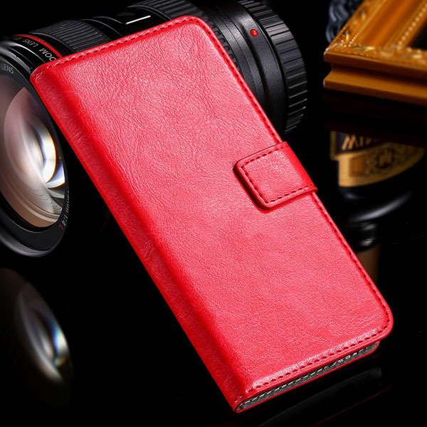M7 Flip Case Stand Pu Leather Cover For Htc One M7 Full Protect Wi 32240295329-5-red