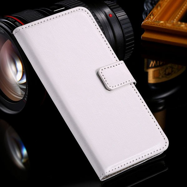 M7 Flip Case Stand Pu Leather Cover For Htc One M7 Full Protect Wi 32240295329-6-white