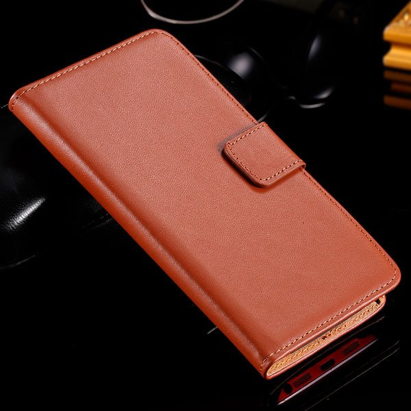 G2 Wallet Book Case Genuine Leather Cover For Lg Optimus G2 D802 D 32283919048-2-brown