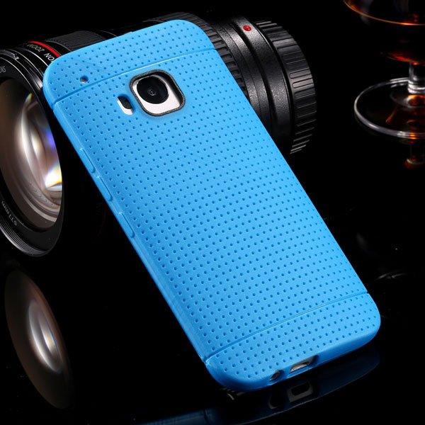M9 Tpu Case Soft Silicone Back Cover For Htc One M9 Ultra Slim Hon 32302450525-4-blue