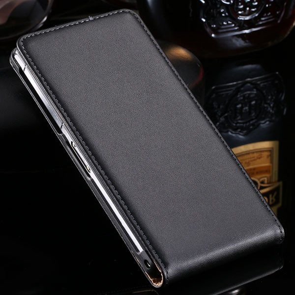 Z2 Flip Leather Case For Sony Xperia Z2 L50 L50W C770X D6503 D6502 32271914881-1-black