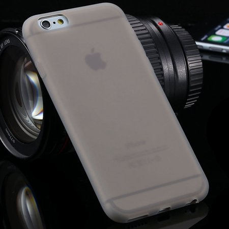"""New Arrival Cute High Quality Silicone Soft Case For Iphone 6 4.7"""""""" 2051298000-2-Gray"""