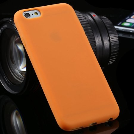 """New Arrival Cute High Quality Silicone Soft Case For Iphone 6 4.7"""""""" 2051298000-11-Orange"""