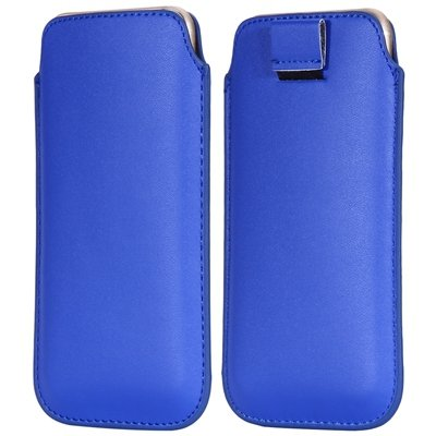 General Leather Case For Iphone 6 5S 4S For Samsung S5 S4 S3 For H 32265670970-4-Blue
