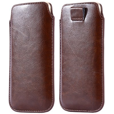 General Leather Case For Iphone 6 5S 4S For Samsung S5 S4 S3 For H 32265670970-7-Brown