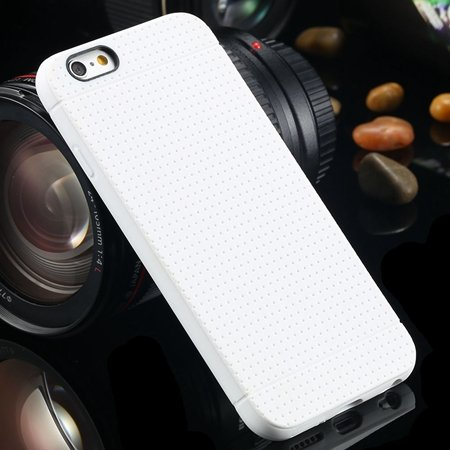 Newest Cute Portable High Quality Silicone Soft Case For Iphone 6  2032606836-2-White