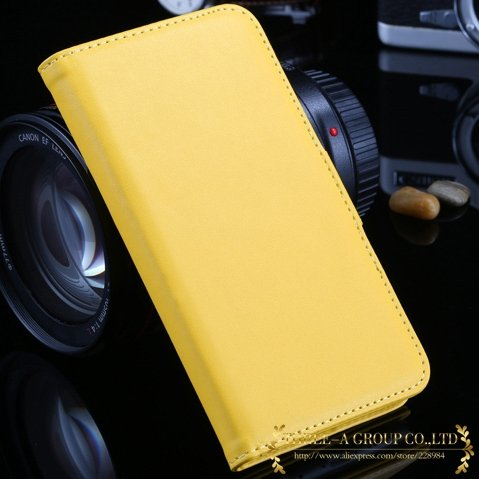 For Iphone 6 Flip Case Retro Luxury Stand Wallet Pu Leather Case F 2019025290-5-yellow