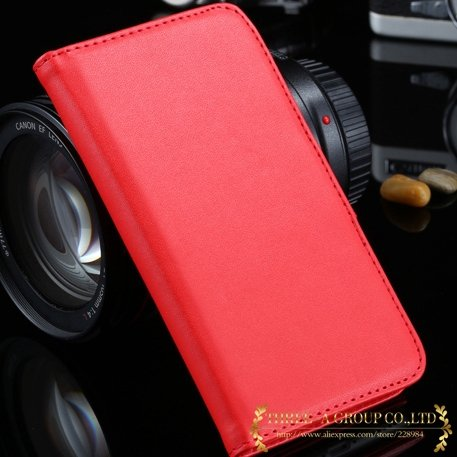 For Iphone 6 Flip Case Retro Luxury Stand Wallet Pu Leather Case F 2019025290-6-red