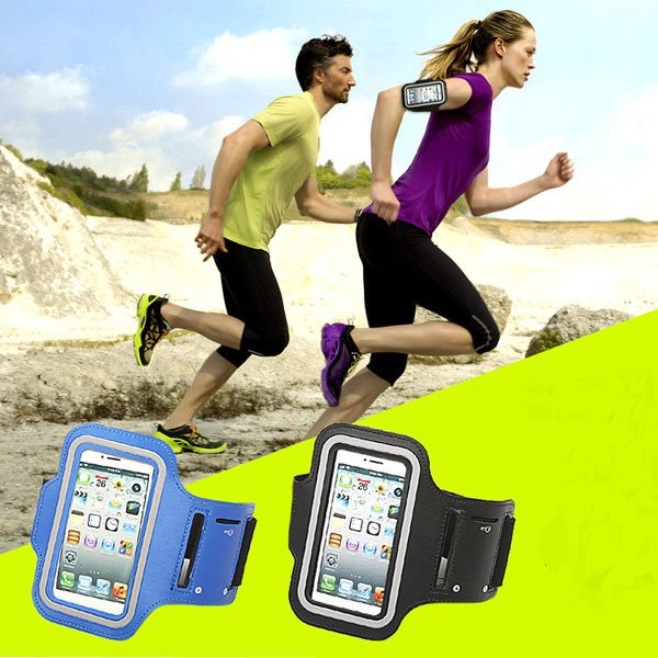 """Sweat-Proof Sport Running Leather Armband For Iphone 6 4.7"""""""" Waterp 2047332295-1-"""