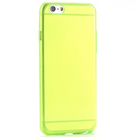 Pure Simple Flexible Transparent Soft Tpu Case For Iphone 6 4.7Inc 2039047120-3-Green