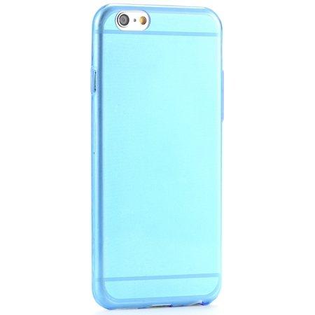 Pure Simple Flexible Transparent Soft Tpu Case For Iphone 6 4.7Inc 2039047120-4-Blue