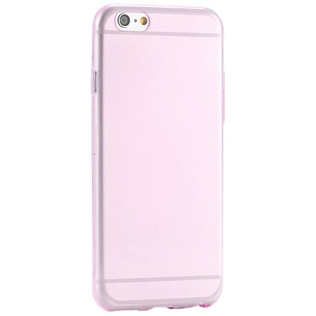Pure Simple Flexible Transparent Soft Tpu Case For Iphone 6 4.7Inc 2039047120-6-Pink