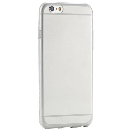 Pure Simple Flexible Transparent Soft Tpu Case For Iphone 6 4.7Inc 2039047120-8-Gray