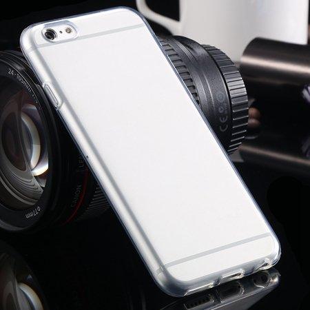 For Apple Iphone 6 Clear Case Ultra Thin Transparent Tpu Soft Case 2030768234-1-Clear White
