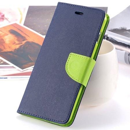 "Retro Fashionable Flip Pu Leather Case For Iphone 6 Case 4.7"""" Luxu 2028613606-8-Dark Blue"