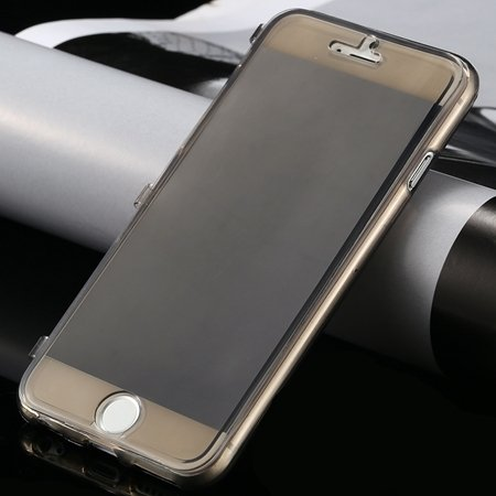 New Arrival Ultra Thin High Quality Flip Soft Tpu Case For Iphone  32226505236-1-Black
