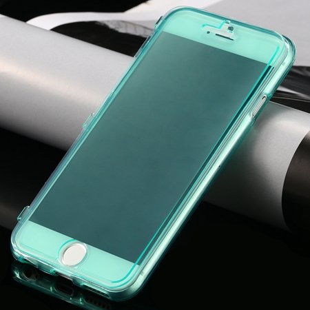 New Arrival Ultra Thin High Quality Flip Soft Tpu Case For Iphone  32226505236-7-Green