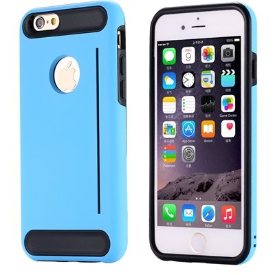 For Iphone 6 Case Luxury High Quality Pc+Tpu Hybrid Case For Iphon 32265485835-2-Sky Blue
