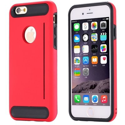 For Iphone 6 Case Luxury High Quality Pc+Tpu Hybrid Case For Iphon 32265485835-3-Red