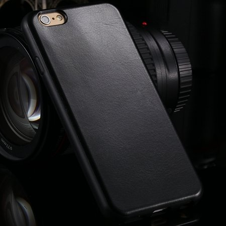 """New Arrival Unique Back Leather Case For Iphone 6 4.7"""""""" Protective  2046746785-1-Black"""