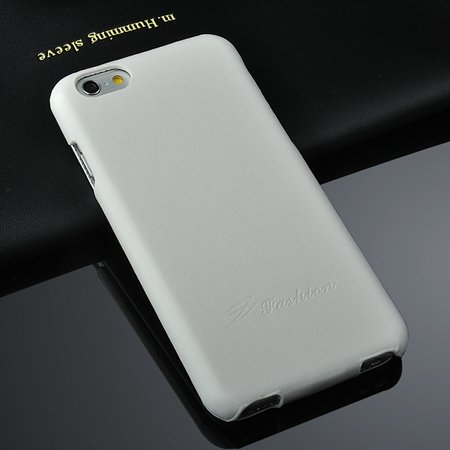 Luxury Vertical Flip Pu Leather Case For Iphone 6 4.7Inch Soft Fee 2045521298-2-White