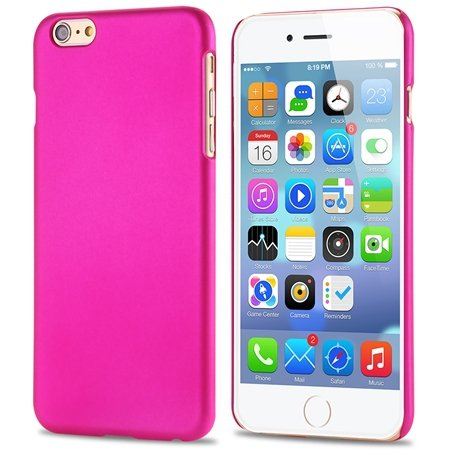 For Iphone 6 5.5 Hard Case Retro Luxury Nail Oil Scrub Case For Ip 32279034982-5-Hot Pink