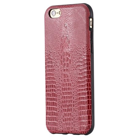 "Vintage Elegent Soft Feeling Leather Case For Iphone 6 4.7"""" Cell P 32259366040-2-Hot Pink"