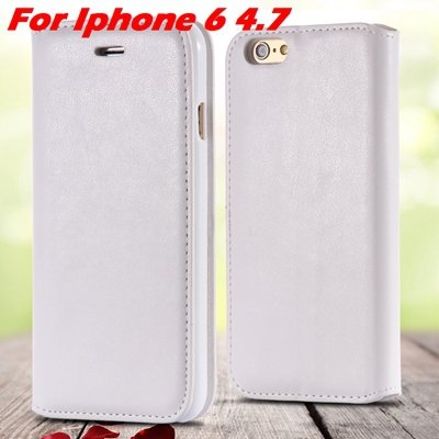 For Iphone 6 Leather Case Retro Luxury Pu Leather Case For Iphone  32265895680-2-White For Iphone 6