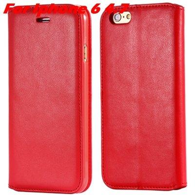 For Iphone 6 Leather Case Retro Luxury Pu Leather Case For Iphone  32265895680-3-Red For Iphone 6