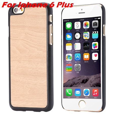 """Luxury Retro Wood Grain Hard Case For Iphone 6 4.7"""""""" Deluxe Fashion 32253933772-14-White For I6 plus"""