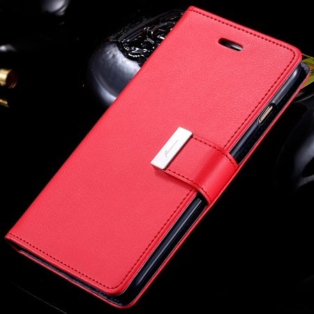 For Iphone6 Case Luxury Pu Leather Case For Iphone 6 4.7Inch Flip  32278295886-2-Red