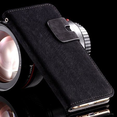 """Hot Dexule High Quality Genuine Leather Case For Iphone 6 4.7 """""""" Fl 32237847795-1-Black"""