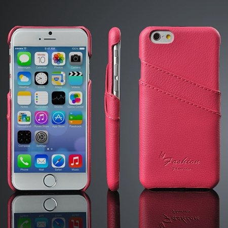 2015 New Year Retro Luxury Pu Leather Case For Iphone 6 4.7Inch Ha 2045849735-3-Hot Pink